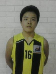 Lin Zheng, jugador de l'equip Cadet del CB Pardinyes
